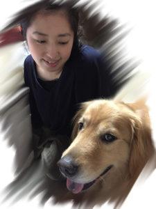 カノンスタッフと愛犬